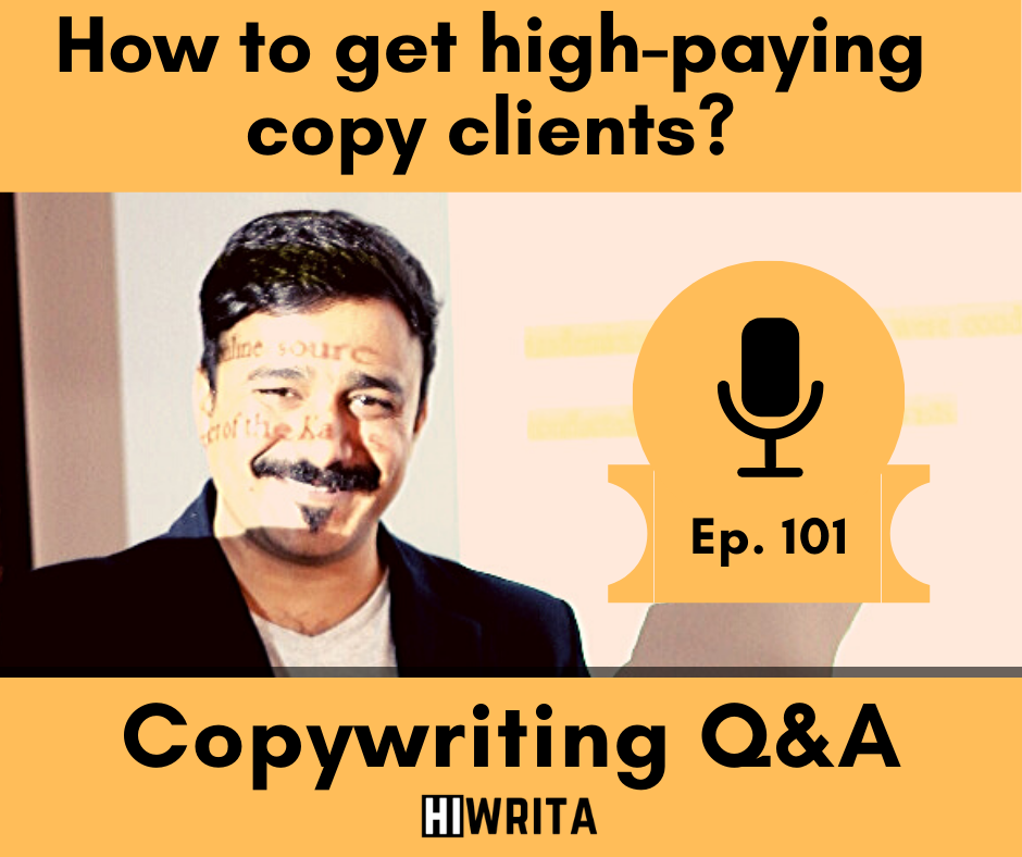 How to get high-paying copywriting clients?